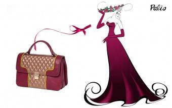 Завораживающая фиолетовая сумочка от Palio